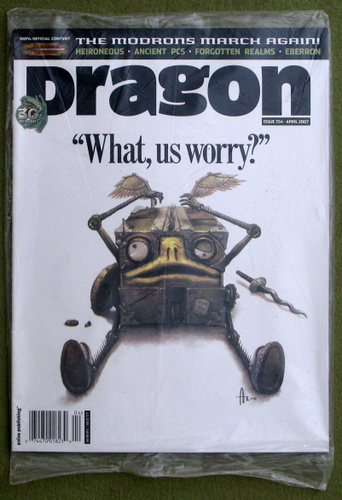 Image for Dragon Magazine, Issue 354