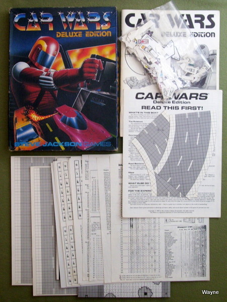 Image for Car Wars: Deluxe Edition - PLAY SET