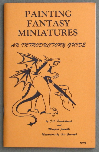 Image for Painting Fantasy Miniatures: An Introductory Guide