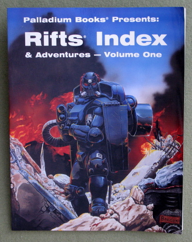 Image for Rifts Index and Adventures, Volume 1