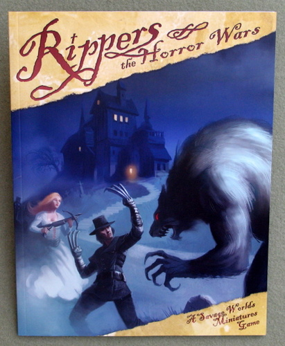 Image for Rippers: The Horror Wars (A Savage Worlds Miniatures Game)