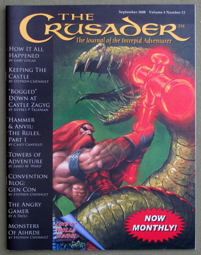 Image for Crusader Journal: Castles & Crusades Magazine, Vol 4 No 12 (Sept 2008)