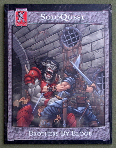 Image for Brothers by Blood: Soloquest (Dungeons & Dragons: Kingdoms of Kalamar)