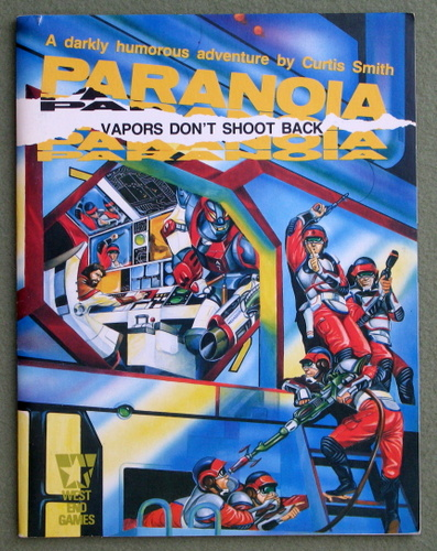 Image for Vapors Don't Shoot Back (Paranoia)