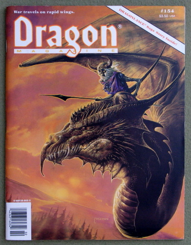 Image for Dragon Magazine, Issue 154
