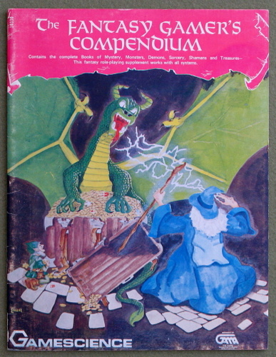 Image for Fantasy Gamer's Compendium