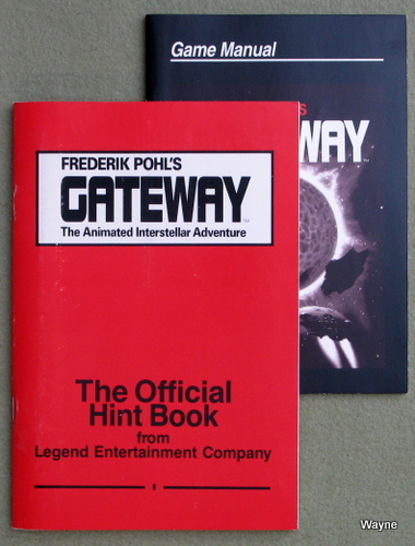 Image for Frederick Pohl's Gateway: The Animated Interstellar Adventure - The Official Hint Book