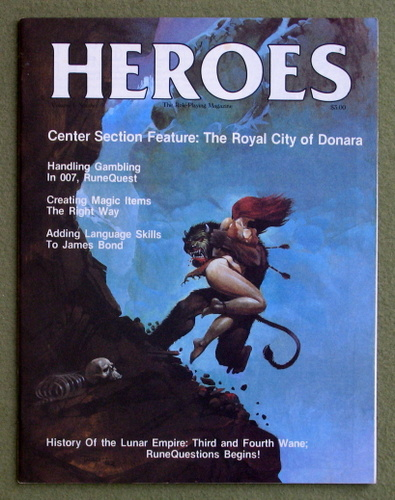 Image for HEROES Role-Playing Magazine: Volume 1, Number 5