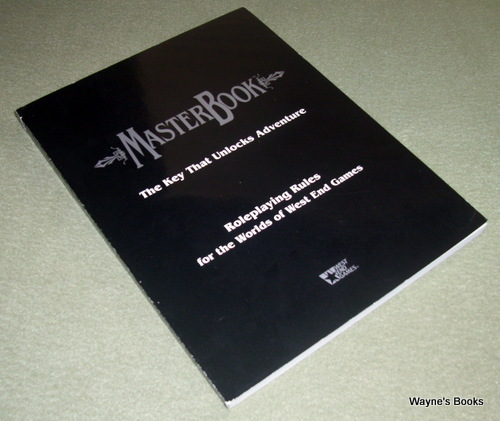 Image for MasterBook - Universal Role Playing Game System
