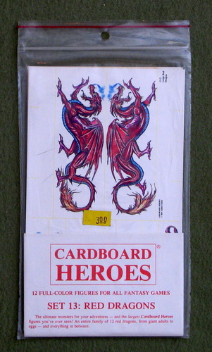 Image for Cardboard Heroes, Set 13: Red Dragons