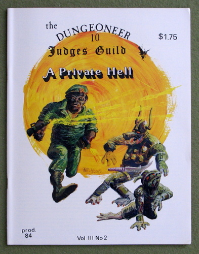 Image for The Dungeoneer, Issue 10 (March/April 1979)