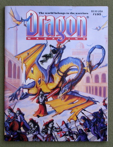 Image for Dragon Magazine, Issue 195