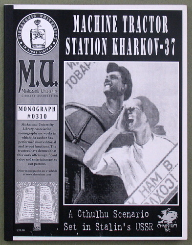 Image for Machine Tractor Station Kharkov-37: A Cthulhu Scenario Set in Stalin's USSR