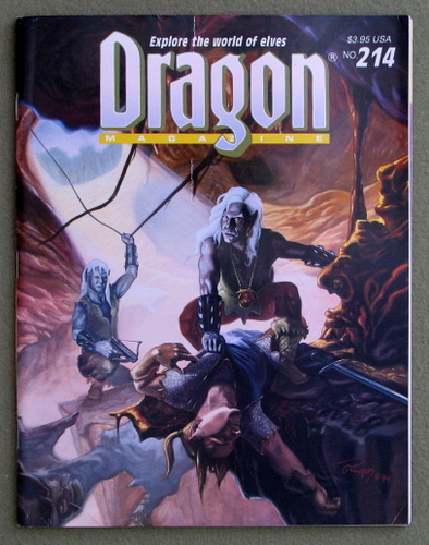 Image for Dragon Magazine, Issue 214
