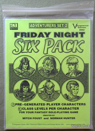 Image for Friday Night Six Pack: Adventurers Set 2 (D20 System)
