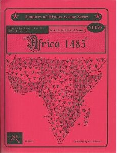 Image for Africa 1483 Expansion for Europe/Asia 1483 Territorial Board Game
