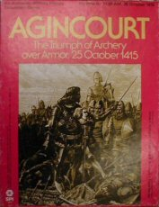 Image for Agincourt: The Triumph of Archery over Armor, 25 October 1415 (Military History Simulation Game)