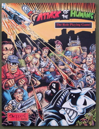 Image for Attack of the Humans: The Role Playing Game