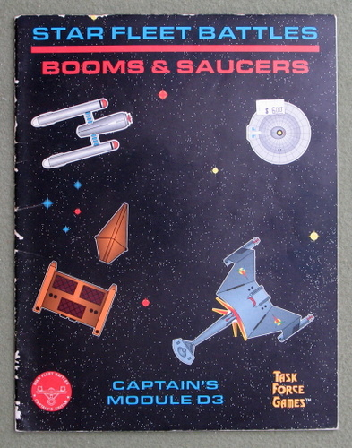 Image for Star Fleet Battles: Booms and Saucers (Captain's Module D3) - PLAY COPY