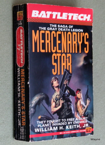 Image for Mercenary's Star: The Saga of the Gray Death Legion (Battletech)