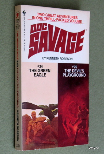 Image for Doc Savage #24: The Green Eagle & #25: The Devil's Playground