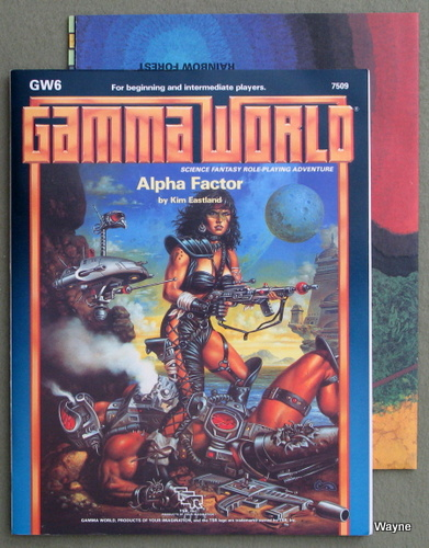 Image for Alpha Factor (Gamma World Module GW6)