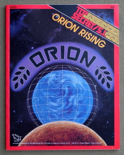 Image for Orion Rising (Top Secret/S.I. Accessory TS3)