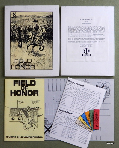 Image for Field of Honor: A Game of Jousting Knights