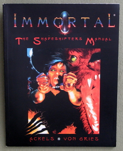 Image for Immortal : The Shapeshifters Manual