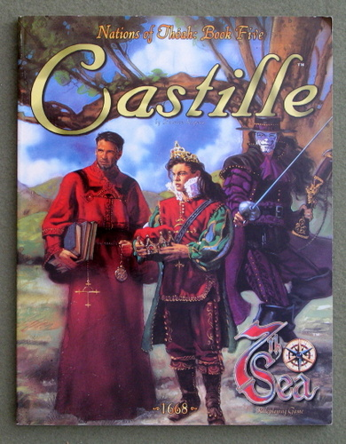 Image for Castille (7th Sea: Nations of Theah, Book Five)