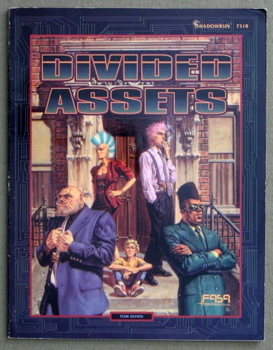 Image for Divided Assets (Shadowrun RPG Adventure)