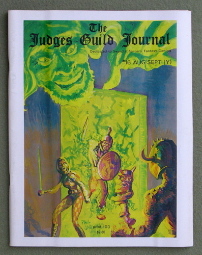 Image for Judges Guild Journal, Issue 16 (Aug/Sept 1979)