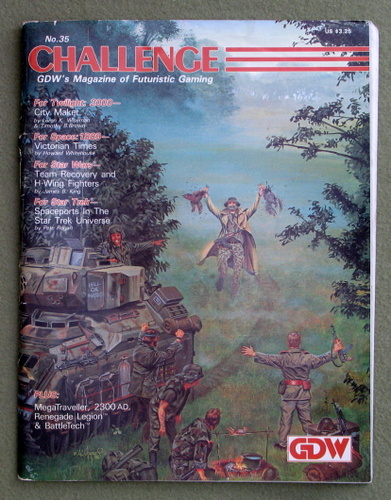 Image for Challenge Magazine, Issue 35 - READING COPY