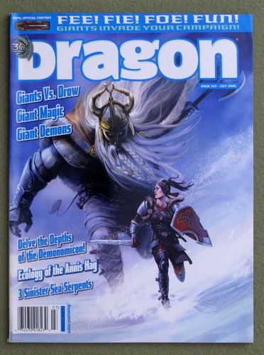 Image for Dragon Magazine, Issue 345