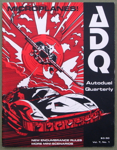 Image for Autoduel Quarterly (ADQ: Car Wars) -- Microplanes (Vol. 7, No. 1)