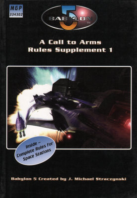 Image for Babylon 5: A Call to Arms Rules Supplement 1