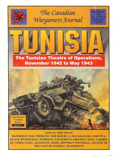 Image for Canadian Wargamers Journal, Issue 44: Tunisia