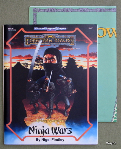 Image for Ninja Wars (AD&D/Forgotten Realms/Oriental Adventures Module FROA1)