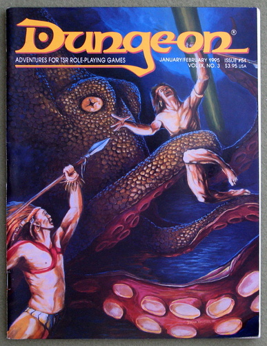 Image for Dungeon Magazine, Issue 51