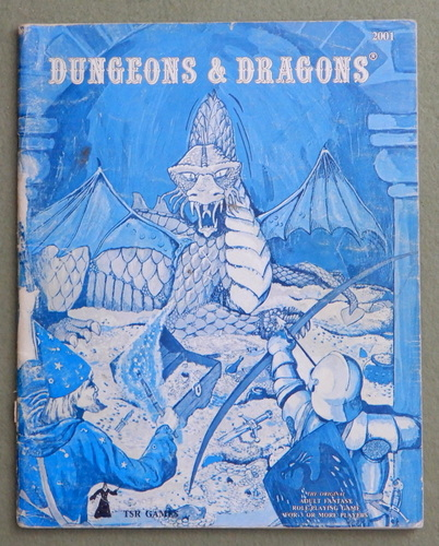 Image for Dungeons & Dragons (Classic Blue Book) - HEAVY WEAR