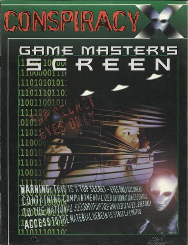 Image for Conspiracy X: Game Master's Screen