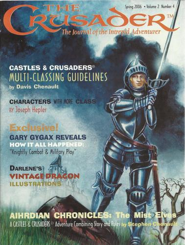 Image for Crusader Journal: Castles & Crusades Magazine, Vol 2 No 4 (Spring 2006)