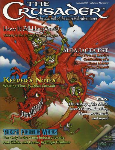 Image for Crusader Journal: Castles & Crusades Magazine, Vol 3 No 7 (August 2007)