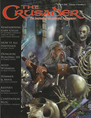 Image for Crusader Journal: Castles & Crusades Magazine, Vol 4 No 8 (March 2008)