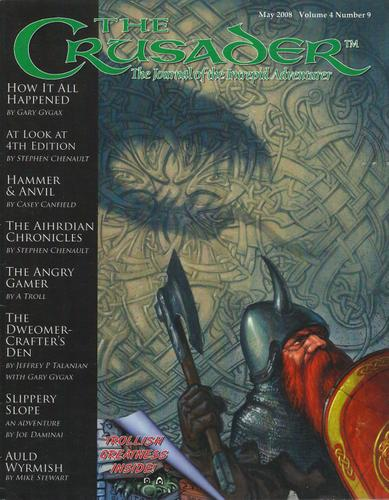 Image for Crusader Journal: Castles & Crusades Magazine, Vol 4 No 9 (May 2008)