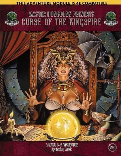 Image for Master Dungeons M2: Curse of the Kingspire (Dungeons & Dragons 4E)