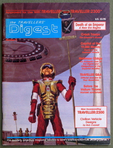 Image for Travellers' Digest, Issue 9 (Traveller/Megatraveller)