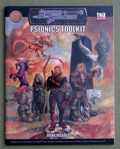 Image for Psionics Toolkit (Dungeons & Dragons: D20 system)