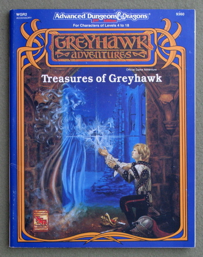 Image for Treasures of Greyhawk (Advanced Dungeons & Dragons Accessory WGR2)