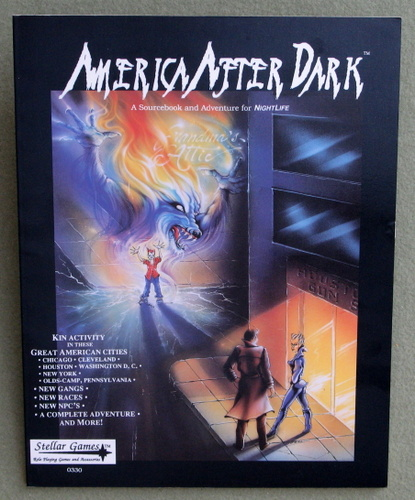 Image for America After Dark (A Sourcebook and Adventure for NightLife)